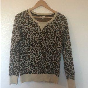 Volcom leopard sweater